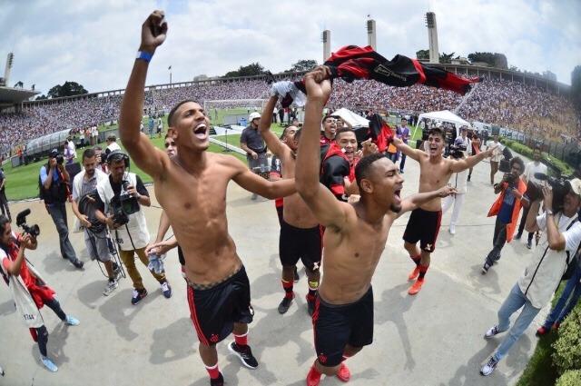 Flamengo ganha a Copinha pela quarta vez
