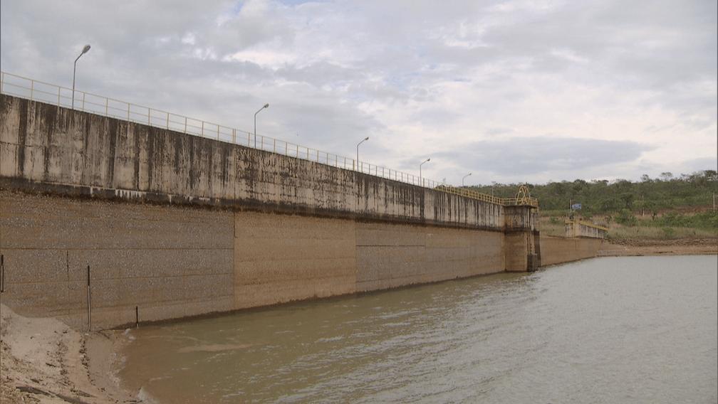 """Reservatório de água do Descoberto atinge 40% e sai da zona de """"estado de alerta"""""""