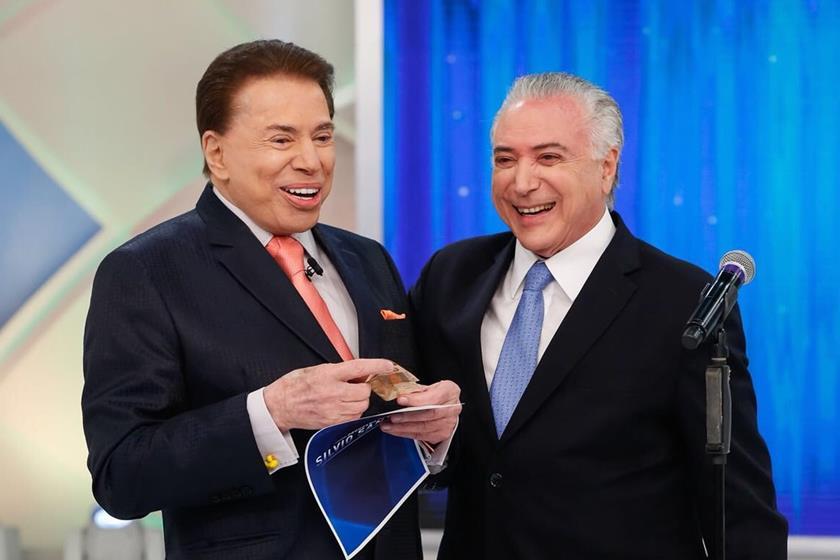 Sílvio Santos recebe Temer em seu programa para falar da reforma da previdência