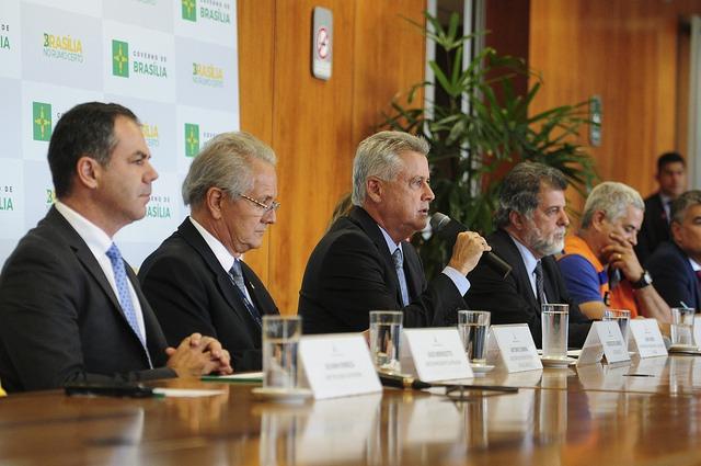 Nota oficial do GDF sobre o desabamento do Eixão Sul