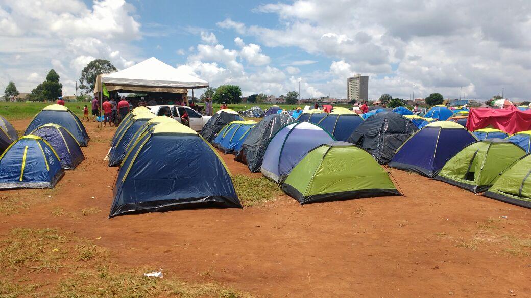 Entidades habitacionais ocupam áreas no Recanto das Emas e em Samambaia