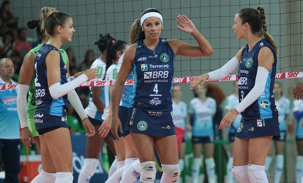 Brasília Vôlei encerra sua participação na Superliga Feminina