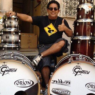 Ceilândia terá workshop com um dos maiores bateristas do país, Camilo Mariano
