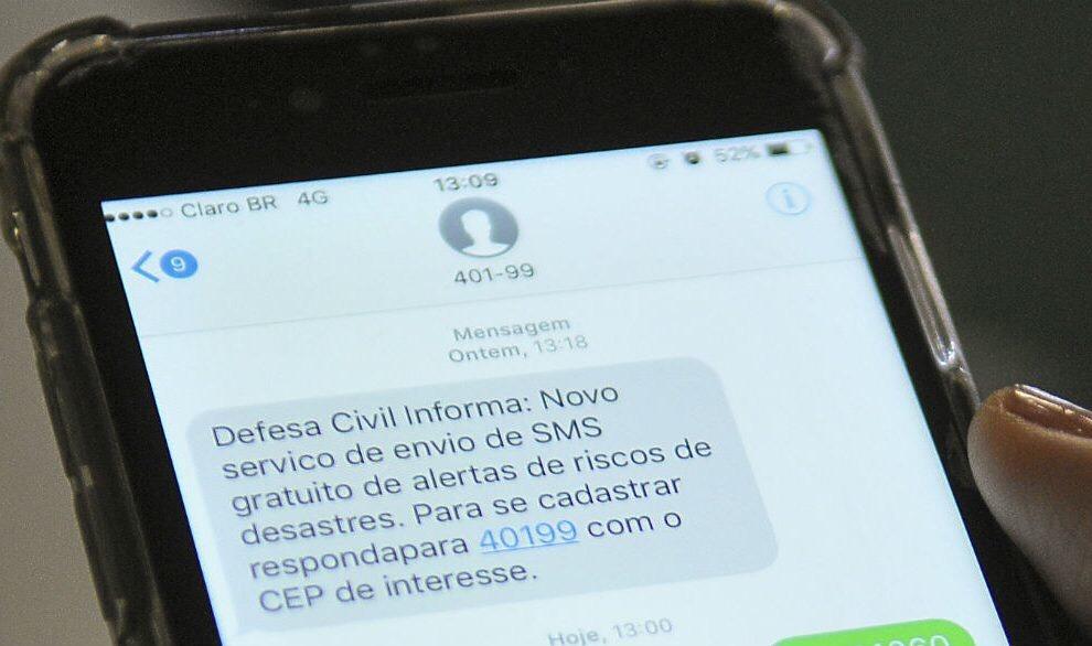 Defesa Civil emite alerta de chuvas fortes em alguns pontos do DF