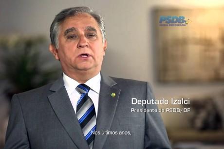 Izalci é reconduzido à presidência do PSDB/DF e deve sair candidato ao Buriti