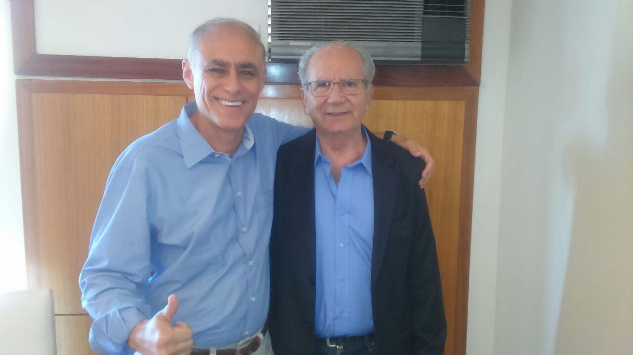 Dr. Charles e Jofran Frejat estarão juntos nas eleições em prol da saúde do DF