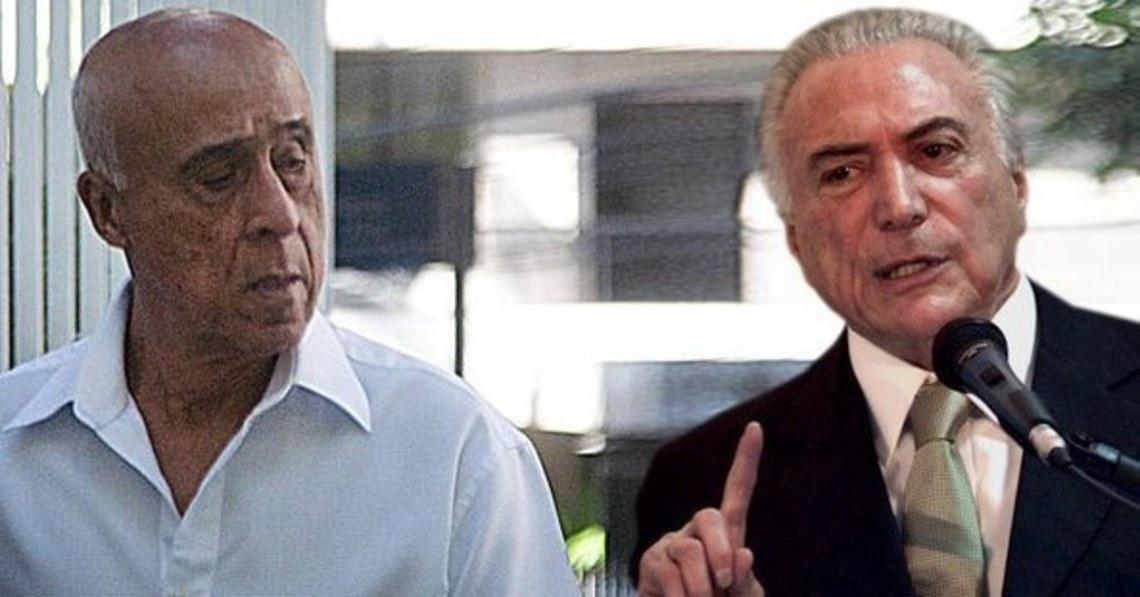 Empresário diz à PF que coronel Lima arrecadava dinheiro para Temer