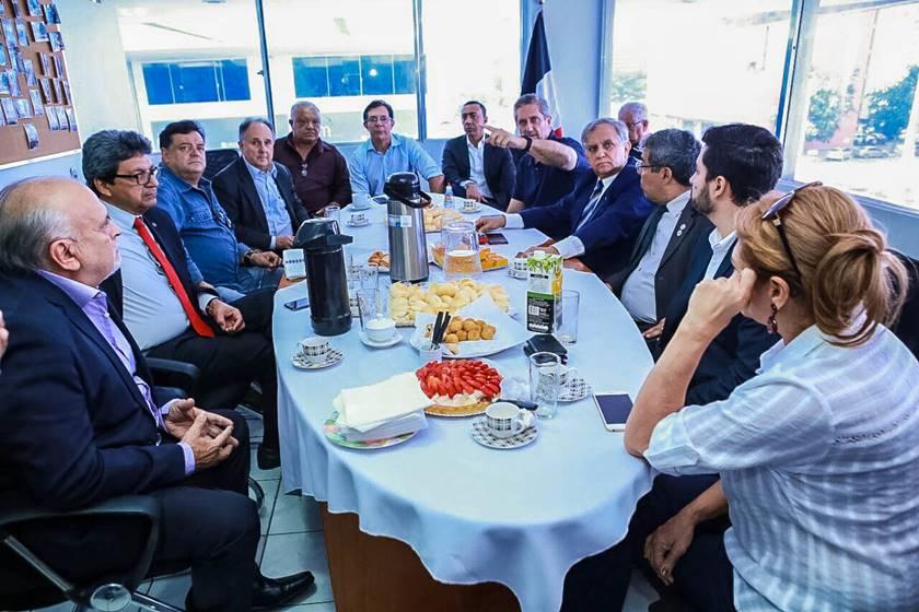 Cristovam (PPS) e Rosso (PSD) serão candidatos ao Senado numa composição com o PSDB, PTB, PSC, PRB, Patriotas, PMB e PPL