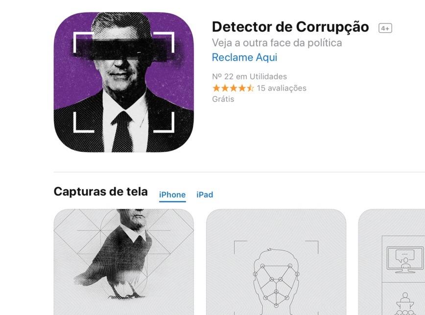 Aplicativo revela informações sobre políticos brasilienses encrencados