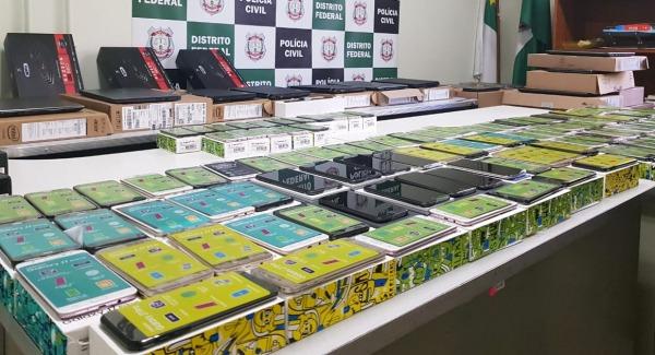 Polícia Civil do DF desarticula grupo que aplicava golpes milionários pela internet