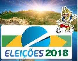 Os políticos já estão entrando em clima de campanha com a aproximação do início da Copa da Rússia