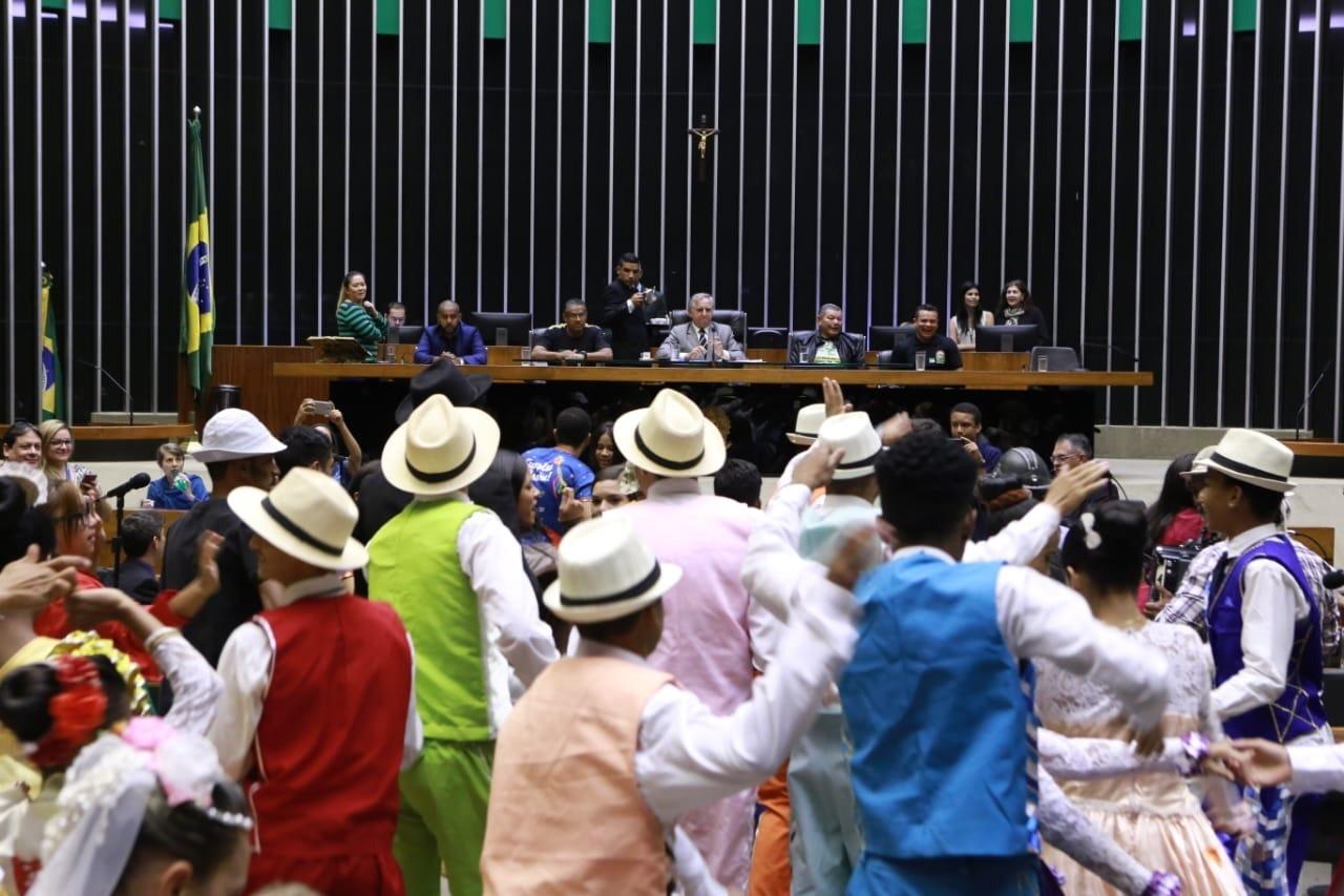 Movimento Junino do DF é homenageado na Câmara dos Deputados