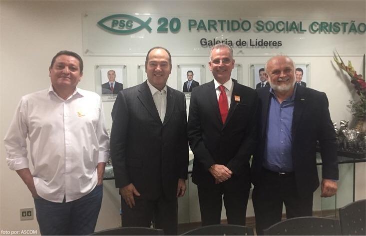 PSC/DF afirma por meio de nota que não integra chapa de Rosso (PSD) desmentindo o grupo