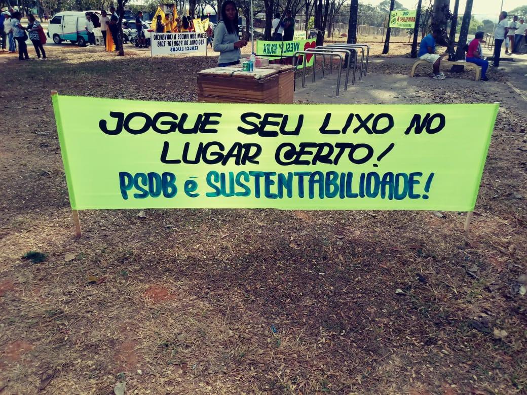 PSDB/DF Sustentabilidade leva consciência ambiental para a convenção do partido