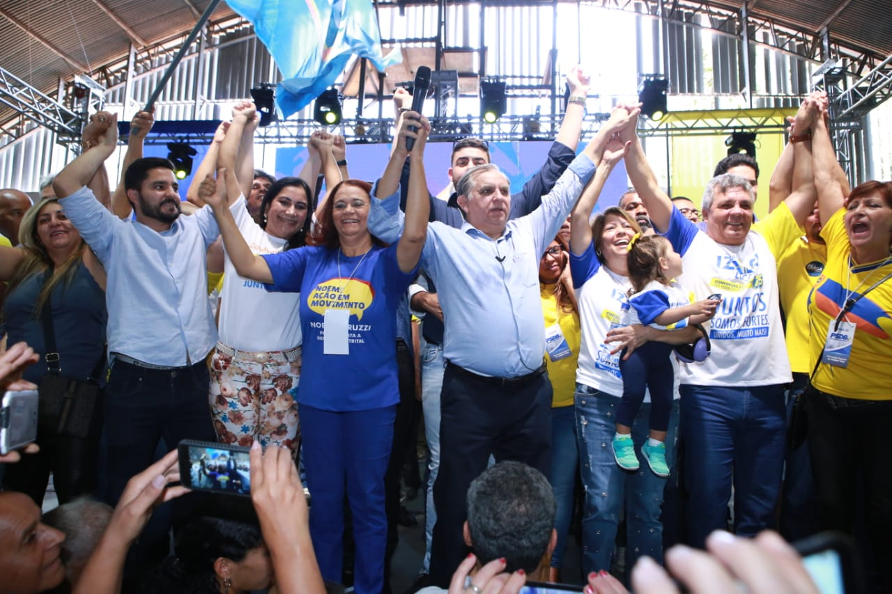 PSDB/DF confirma Izalci Lucas como candidato ao Senado na chapa de Fraga