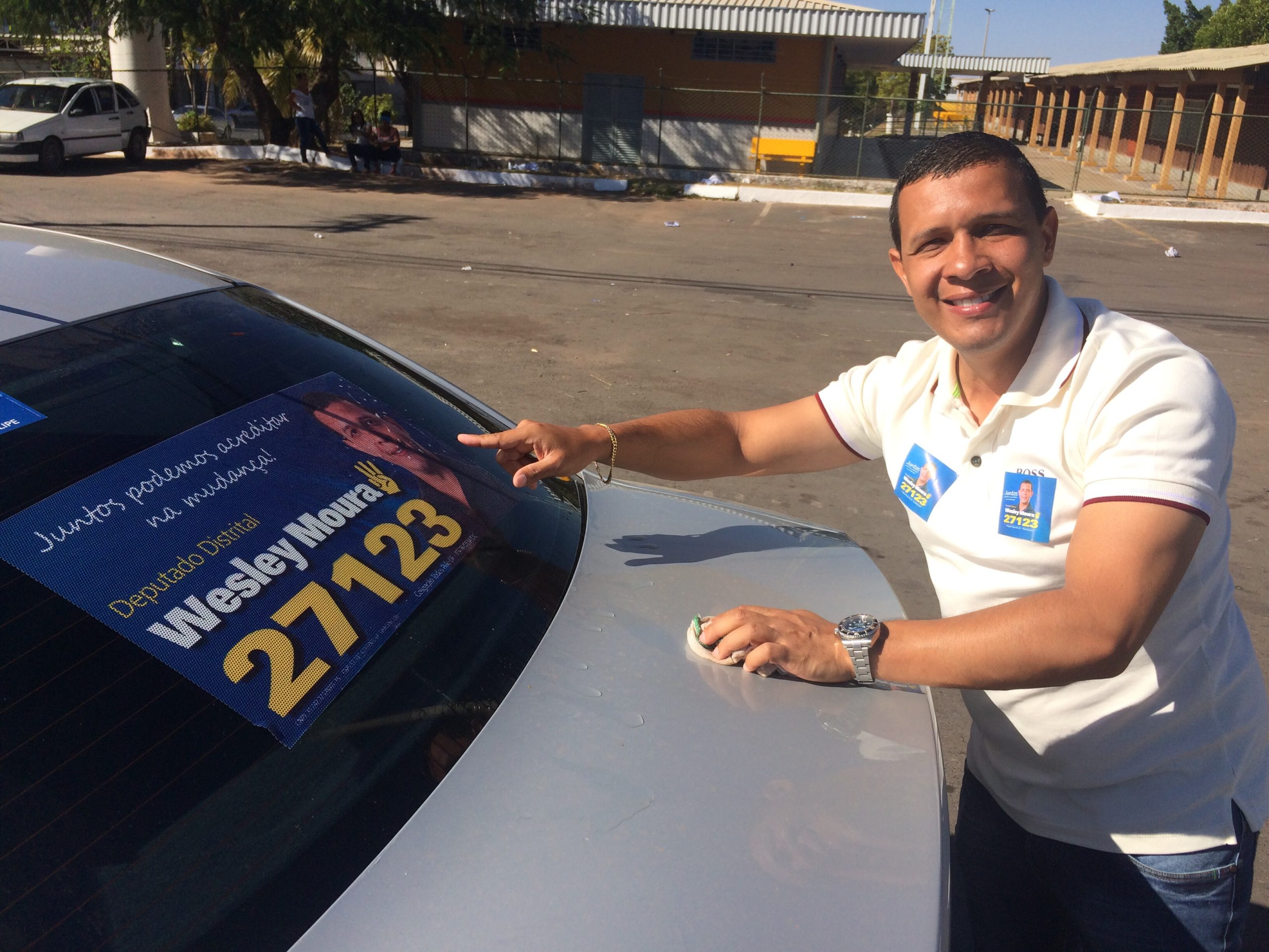 Filho do Guará, Wesley Moura lança sua campanha na cidade no próximo domingo