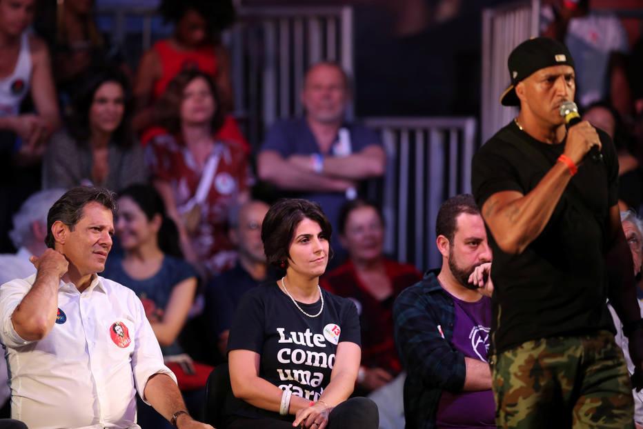 """Mano Brown dos Racionais MC's """"mandou a real"""" para a cúpula do PT"""