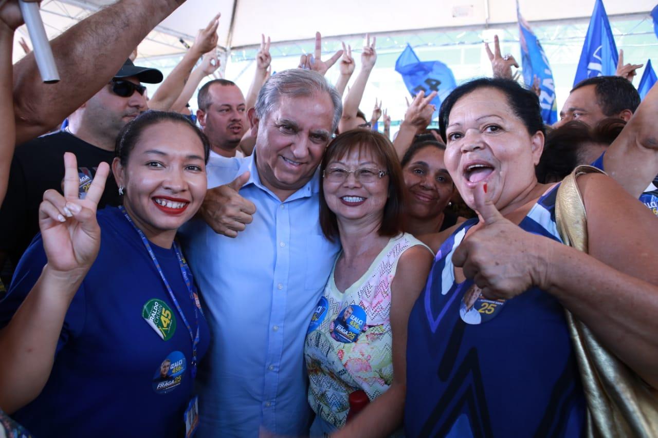 """Exclusivo: """"Vou trabalhar para tirar Brasília do último lugar em termos de investimentos com recursos do governo federal"""", Izalci – 456 (PSDB) – Senador"""