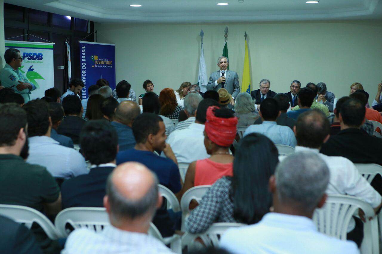 PSDB de Izalci apoiará Ibaneis no segundo turno