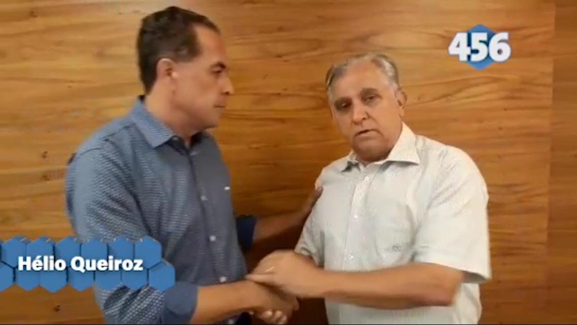 Hélio Queiroz desiste de disputar o Senado e declara apoio a Izalci