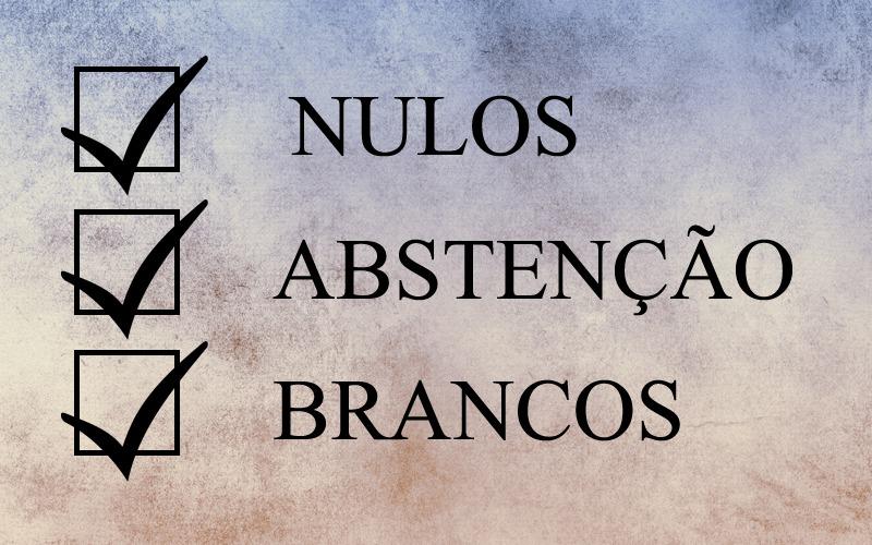 Mais de 20% dos eleitores brasileiros se abstiveram de votar no primeiro turno