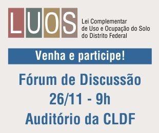 CLDF promove debate da Luos com a população