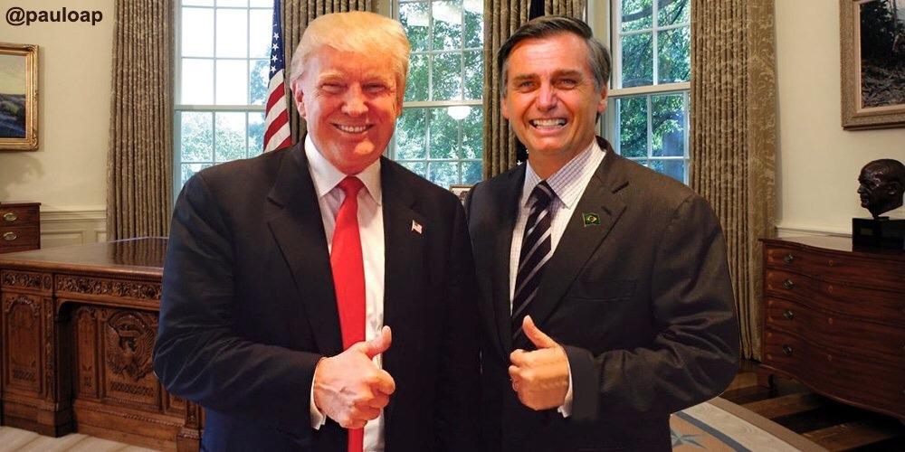Trump não virá para a posse de Bolsonaro