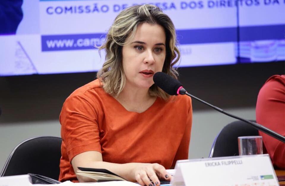Ericka Filippelli participa de debate sobre a Casa da Mulher Brasileira na Câmara