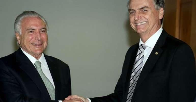 Governo decreta sigilo de gastos com transição de Temer a Bolsonaro