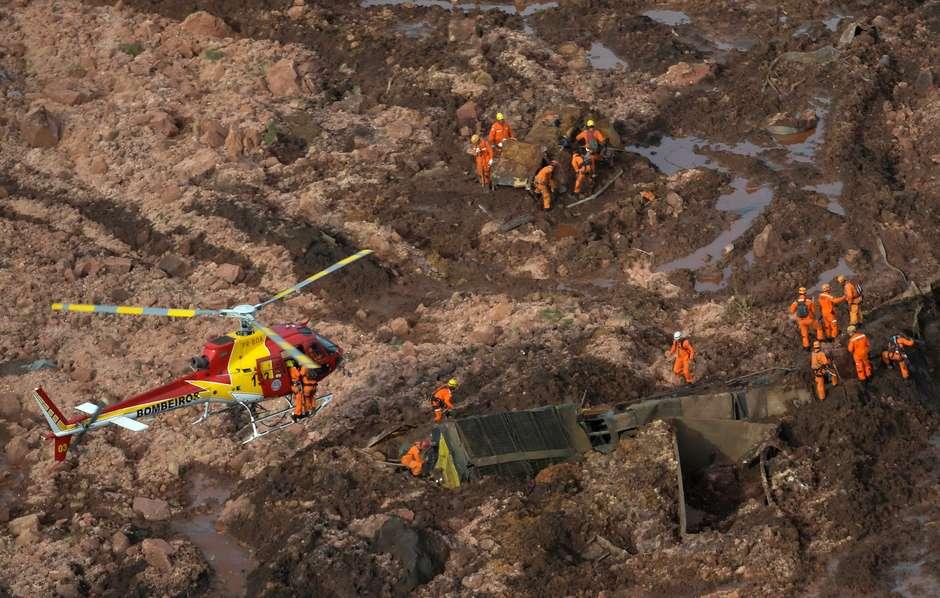 Tragédia de Brumadinho – Já são 60 mortos e 305 desaparecidos