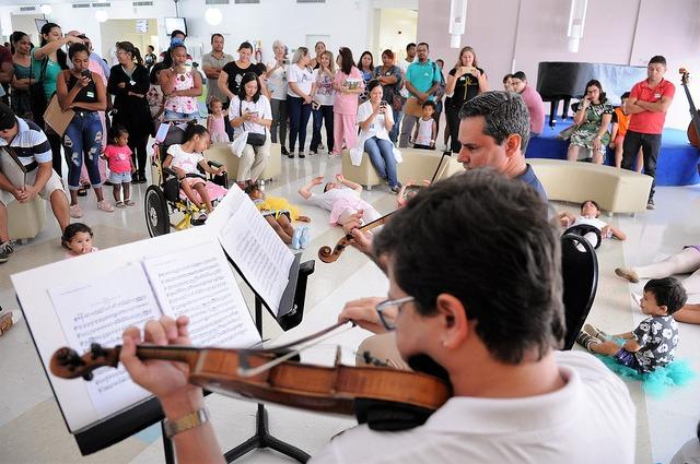 Orquestra Sinfônica se apresenta em hospitais de Brasília até 31 de janeiro