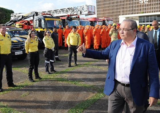 Ibaneis lança SOS DF Segurança