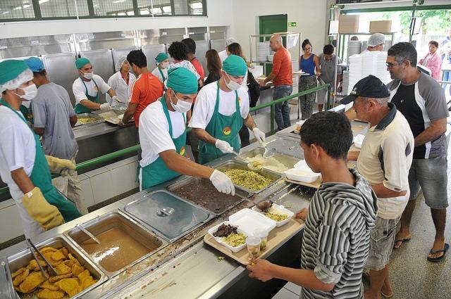 GDF irá promover a educação alimentar nos 14 restaurantes comunitários