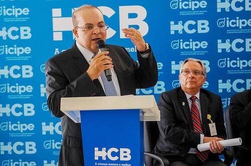 Ibaneis anuncia a realização de 508 cirurgias no Hospital da Criança