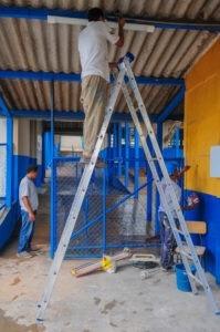 Escolas no DF ganham reparos para o início do ano letivo