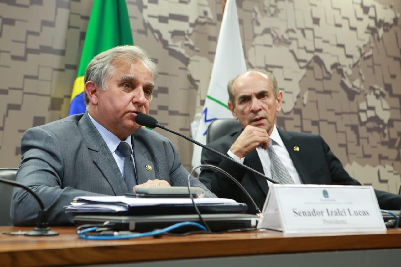 Senador Izalci Lucas foi eleito, por aclamação, para a Comissão de Desenvolvimento Regional do Senado