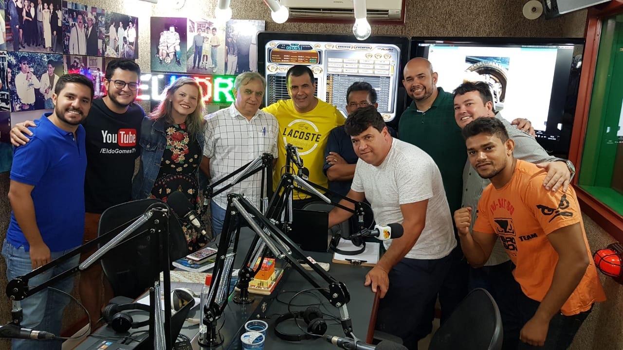 Senador Izalci abre temporada 2019 de seu programa de rádio para ouvir a população do DF