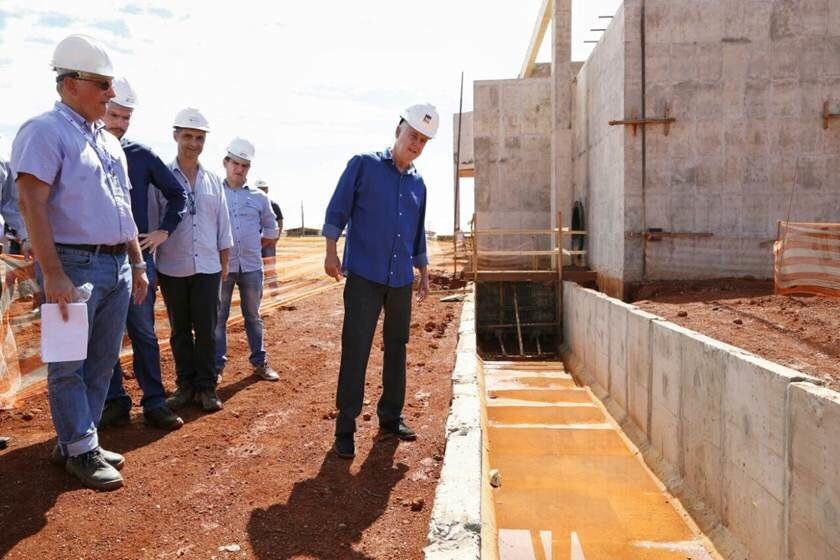 """""""Governo passado mentiu sobre obras de Corumbá IV"""", diz presidente da Caesb"""