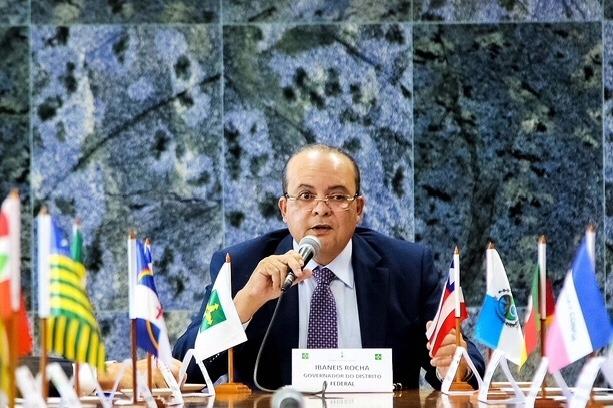 Reunião no Buriti com governadores define temas para fórum nesta quarta