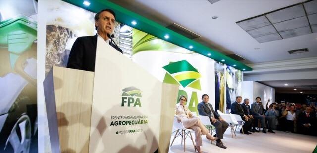 Produtores rurais terão segurança jurídica para produzir, diz Bolsonaro