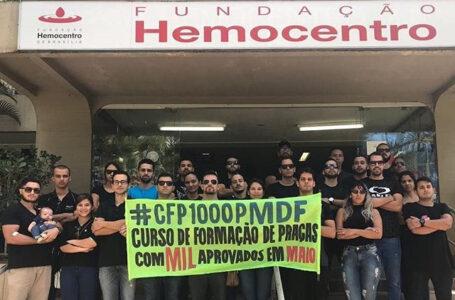 Futuros policiais militares  reivindicam que GDF convoque 1.000 aprovados para curso de formação em maio