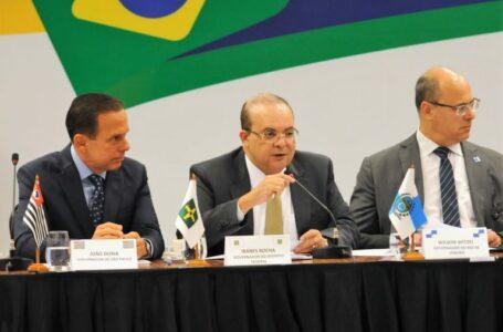 Reunião para pedir socorro aos Estados