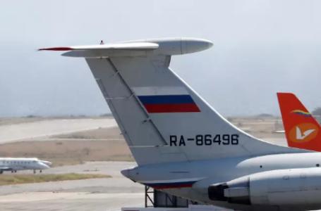 Aviões russos aterrissam na Venezuela com tropas