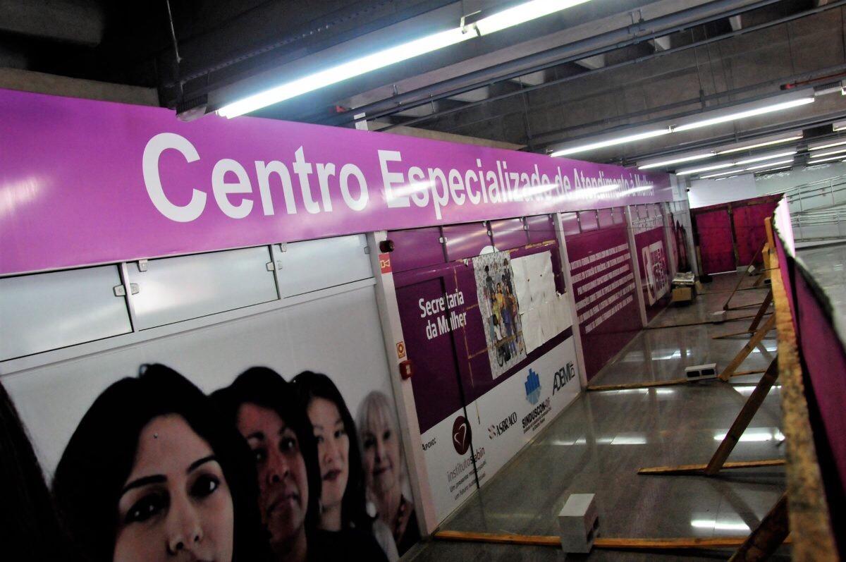 Estação do Metrô da 102 Sul terá serviços integrados de apoio à mulher