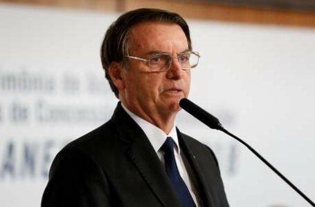 Bolsonaro diz em hebraico que ama Israel e quer proximidade