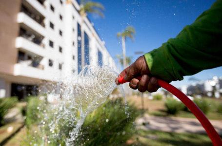 Consumo de Água aumenta no DF