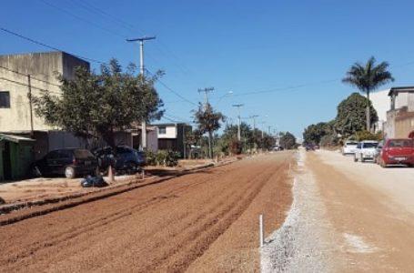 GDF segue avançando com as obras de drenagem e pavimentação em Vicente Pires