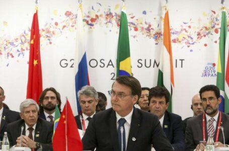 Bolsonaro avalia positivamente a viagem ao Japão para reunião do G-20