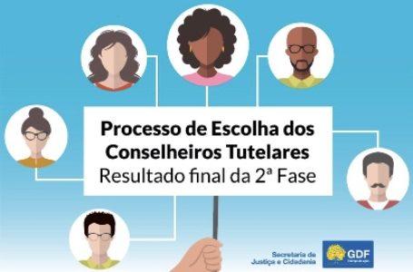 GDF divulga resultado final da 2ª fase do processo de escolha dos conselheiros tutelares