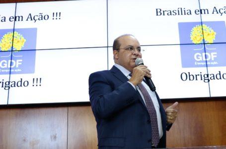 Ibaneis Rocha anuncia investimentos de quase R$ 500 milhões em infraestrutura no DF